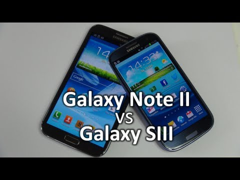 Samsung Galaxy Note 2 vs Galaxy S3   SwagTab