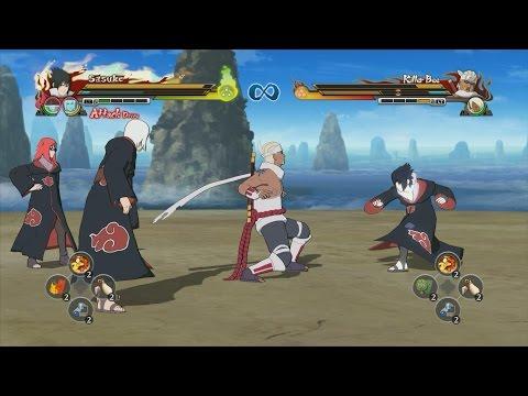 Naruto Shippuden Ultimate Ninja Storm Revolution Killer Bee vs Team Taka