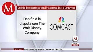 Disney wins : Comcast drops it's bid for 21st century fox || changing aor