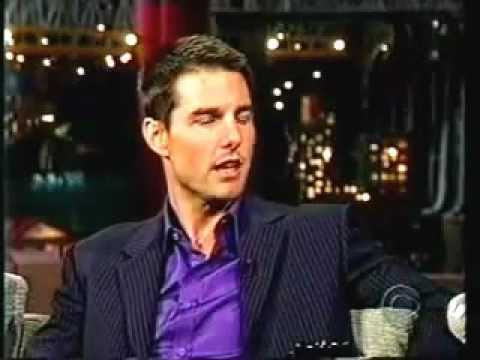 Tom Cruise goes crazy live on Letterman Music Videos