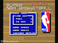 Tecmo Super NBA Basketball - Screenshot #3