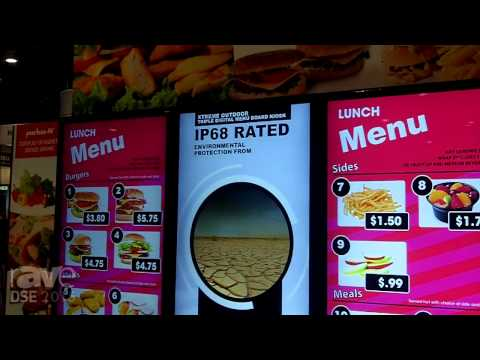 DSE 2015: Peerless-AV Explains Its Triple Digital Menu Board Solution