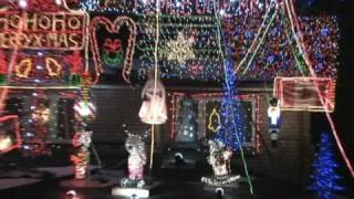 Thumb Loca decoración de luces navideñas