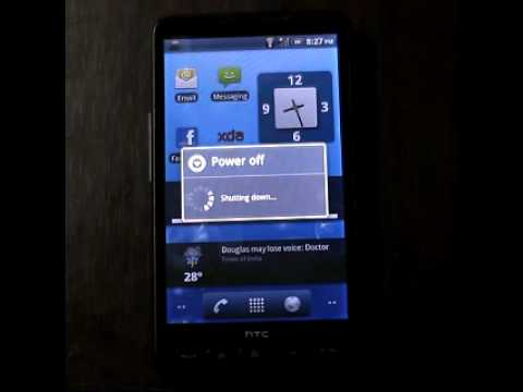Dual Boot Android 2.2 on HTC HD2 (Latest build)
