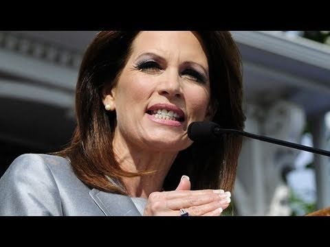 Creepy Michele Bachmann God Speech (Audio)
