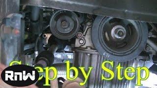 Hyundai Elantra Timing Belt Replacement Part 1