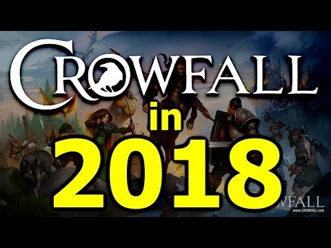 Let's Talk Crowfall in 2018 - It's Starting To Come Together Now. (Crowfall Templar PvP Gameplay)