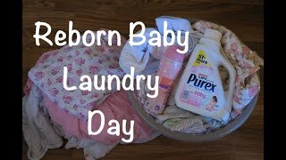 Chatting About Reborn Baby Laundry Day! Making Swaddle Blankets Soft?