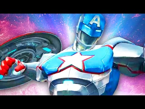 IRON MAN & CAPTAIN AMERICA COMBINED?! - Marvel Contest of Champions Civil Warrior - Gameplay Part 57