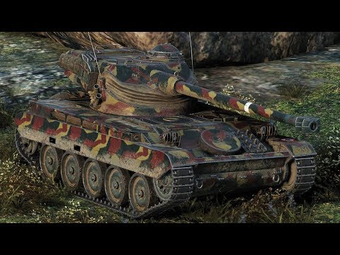 World of Tanks AMX 13 105 - 4 Kills 10,1K Damage