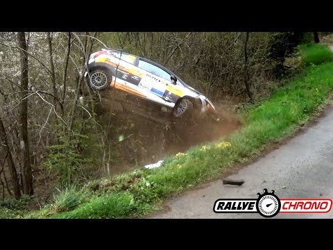Best of Rallye 2016 Crash Mistakes Highlights [HD] - RallyeChrono