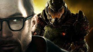 Гордон Фримен vs Солдат Рока | Half-life & DOOM