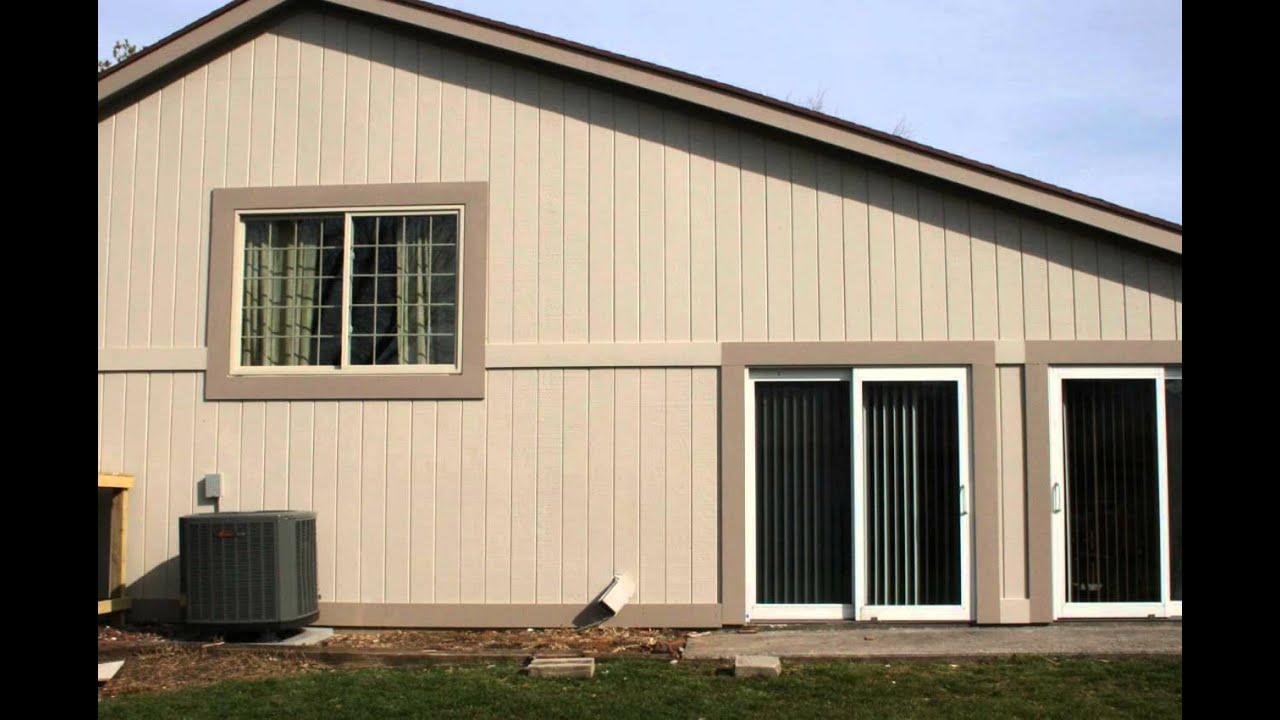 Composite wood siding panels exterior - Smart Siding Panels