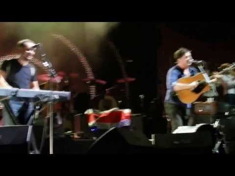 Mumford and Sons - The Cave - St Augustine- Costa Rican Flag