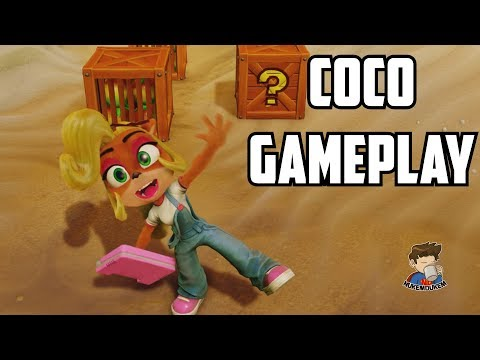 Crash Bandicoot N. Sane Trilogy Gameplay COCO & Boss Fight Walkthrough Part 1