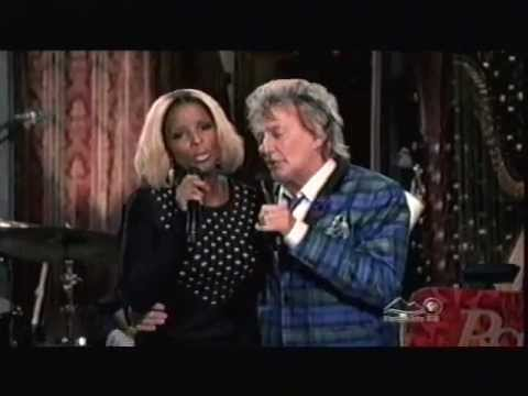 Rod Stewart And Mary J. Blige - We Three Kings (live) video