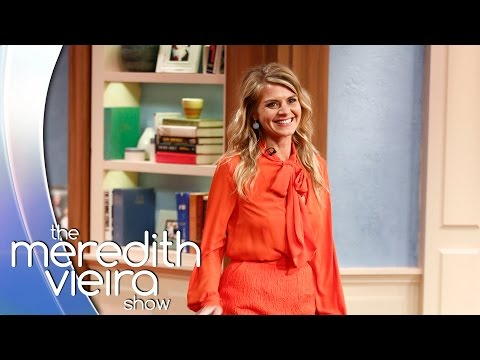 Eliza Coupe's Crush On Leonardo DiCaprio | The Meredith Vieira Show