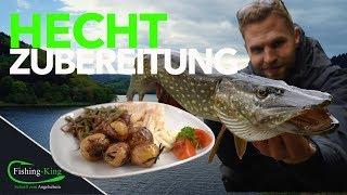 Das schnellste und einfachste Hechtgericht - so geht´s| Fishing-King.de