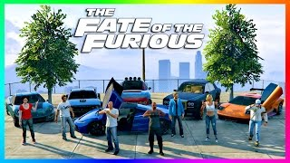 GTA ONLINE THE FATE OF THE FURIOUS SPECIAL - FAST & FURIOUS 8 VEHICLES, NEW GTA 5 SUPER CARS & MORE!