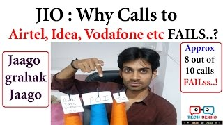 JIO WAR with Airtel, Idea, Vodafone etc | Why JIO Calls Drop? POI explained | Hindi