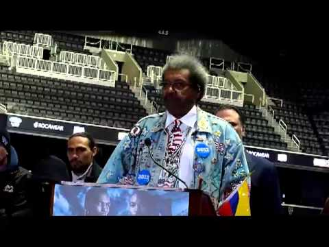 Don King on Hugo Chavez and Bernard Hopkins 3-6-13