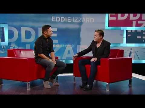 Eddie Izzard on George Stroumboulopoulos Tonight: INTERVIEW
