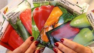 Семена перца Как правильно выбрать сорт