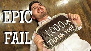 download lagu 1000 Subs Epic Cake Fail gratis