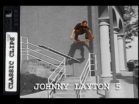 Johnny Layton Skateboarding Classic Clips #241 Toy Machine