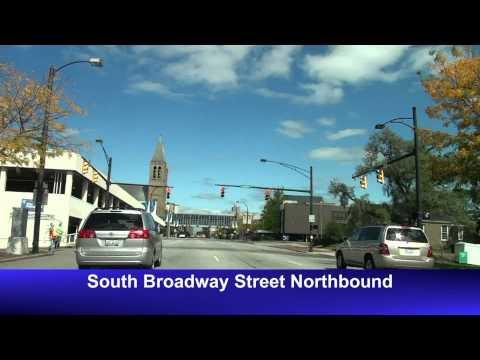 Akron, OH Freeway & Street Tour