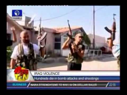 Iraq Violence:Hundreds die in bomb attacks and shootings