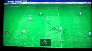 PES 2011 Gameplay - Marseille - Atletico Madrid