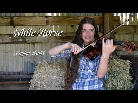White Horse - Taylor Swift (Violin Piano and Drums)