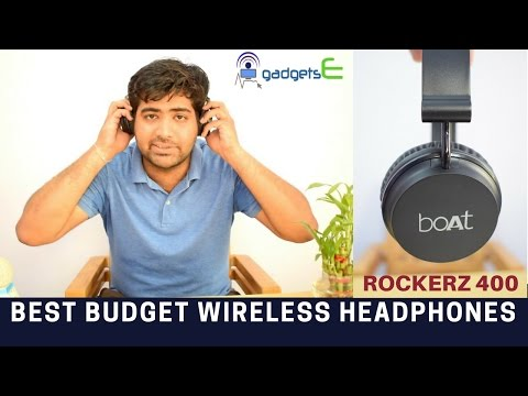 Boat Rockerz 400 On Ear Bluetooth Headphones Unboxing - Best Budget Wireless Headphones 2017?