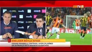 Galatasaray - Fenerbahçe Maç Sonu Basın Toplantısı: Cesare Prandelli