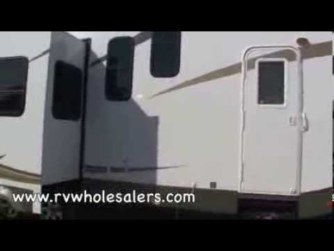 2010 Sandpiper 35LOFT Fifth Wheel RV Camper From RVWholesalers 024991 - Toffee