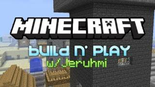 MineCraft: Build n' Play 10 - Castle and Barracks!