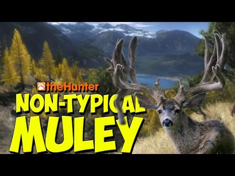 NON TYPICAL MULEY - theHunter 2016 Gameplay w/leeroy