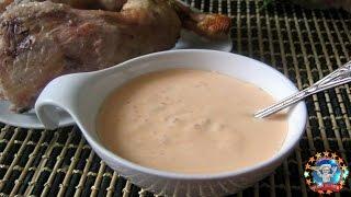 Как сделать майонезный соус для курицы