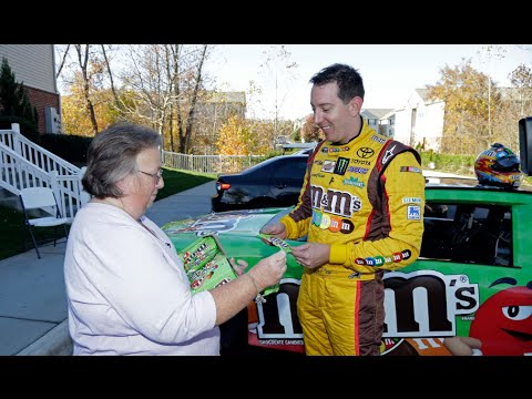 M&M'S® Crispy Chocolate Candies Delivery w/ Kyle Busch
