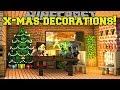 Lagu Minecraft: CHRISTMAS DECORATIONS! (CHRISTMAS SONGS, LIGHTS, WREATHS, & MORE!) Mod Showcase