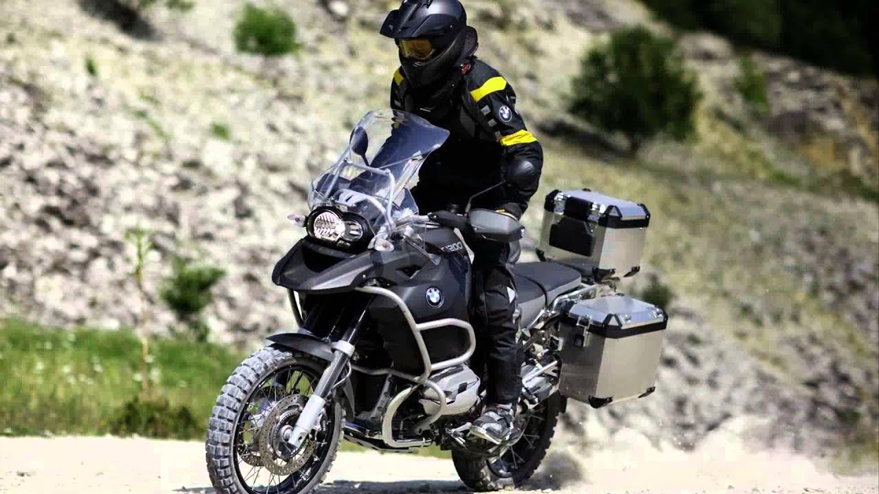 Bmw R 1200 Gs Adventure Triple Black Youtube