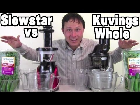 Kuvings Whole Slow Juicer Vs Greenstar : Slowstar :: videoLike