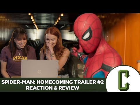 Spider-Man: Homecoming Trailer #2 Reaction & Review