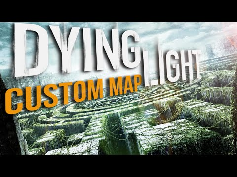 FALLING DOWN AND GETTING LOST! | Dying Light Custom Map (Climb Down 21 / The Maze Runner)