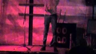 YB YUNI-KU SINGING AT THE E3RD STREET STEAK HOUSE DOWN TOWN