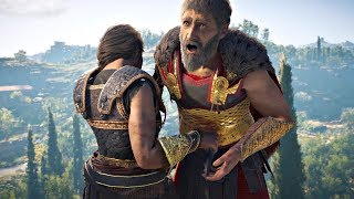 Assassin's Creed Odyssey - Spare vs Kill Nikolaos (All Choices) The Wolf of Sparta