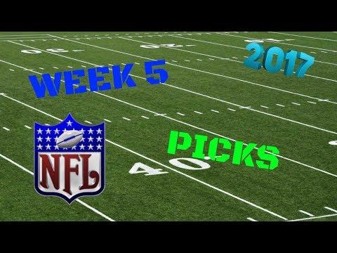 NFL PREDICTIONS 2017 (WEEK 5)
