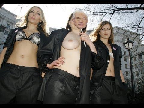 На саммите бегают голые активистки / A24
