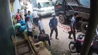 tai nạn giao thông ở xuân lai p1